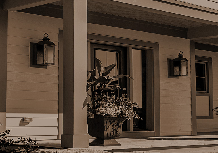 Front porch of a house
